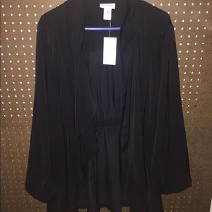 Catherine's Black Soft Blazer/ Cardigan